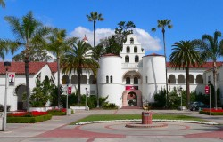 a picture of a the building Hepner Hall